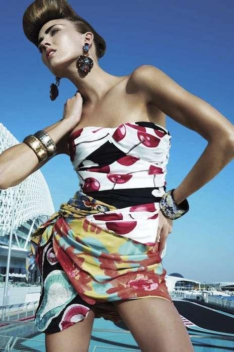 Pattern-Popping Fashion
