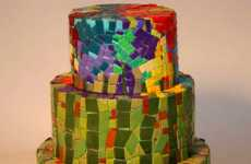 Stained Glass Baking - The Mosaic Cake is Art Made Delicious