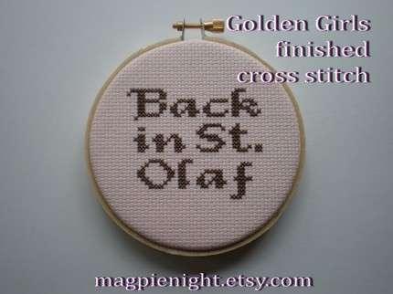 'Golden Girl' Crafts