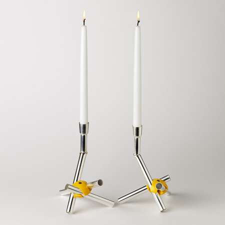 Hodgepodge Candle Holders