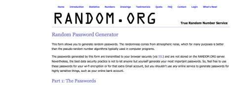Password Generators