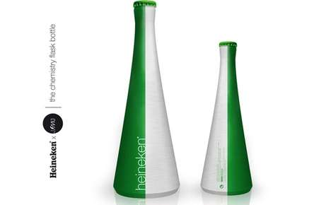 Sleek Sophisticated Beer Bottles