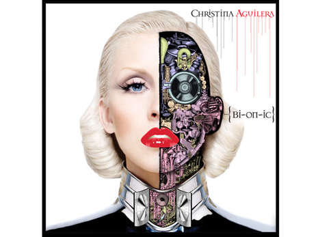 D*Face Creates Bionic Album For Christina Aguilera