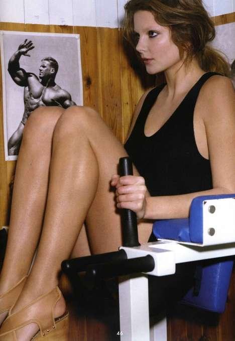 Retro Workout Photography