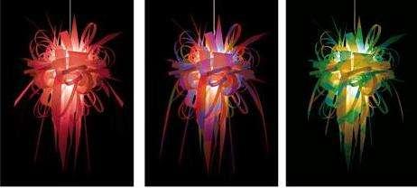 Explosive Technicolor Lights