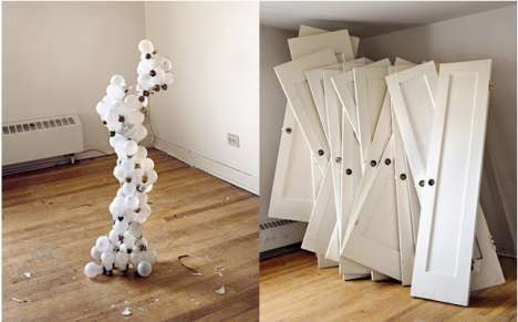 Sculptural Stacked Objects