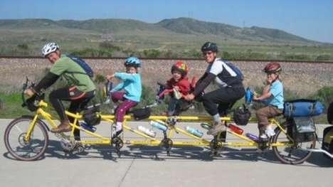 Cross-Country Family Bike Treks