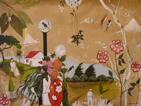 Surreal Folk Art - Megan Campbell Gives New Life to a Tired Genre