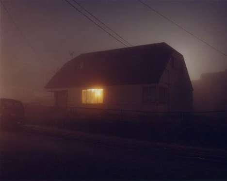 Ghoulishly Eerie Photography - Todd Hido's Photographs are a Perfect Background for Ghosts