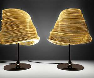 Whirling Papcraft Lamps