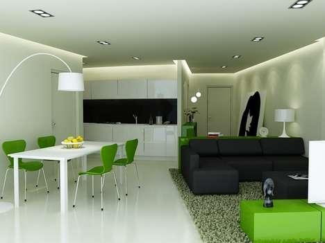 Kermit-Inspired Interiors