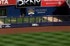 Stadium Fashionvertising - DKNY Yankees Sponshorship Deal Brings Fashion to Baseball