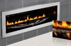 Luxury Glittering Firepits - The Limited Edition Napoleon Swarovski-Studded Fireplace