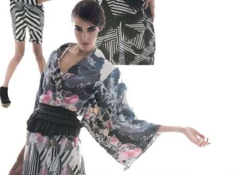 Floral Kimono Fashion