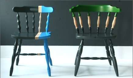 Motley-Hued Chairs