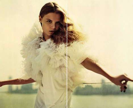 41 Ravishing Ruffled Fashions