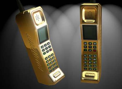 Golden Retro Mobiles