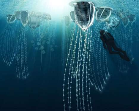Underwater Ocean Cities