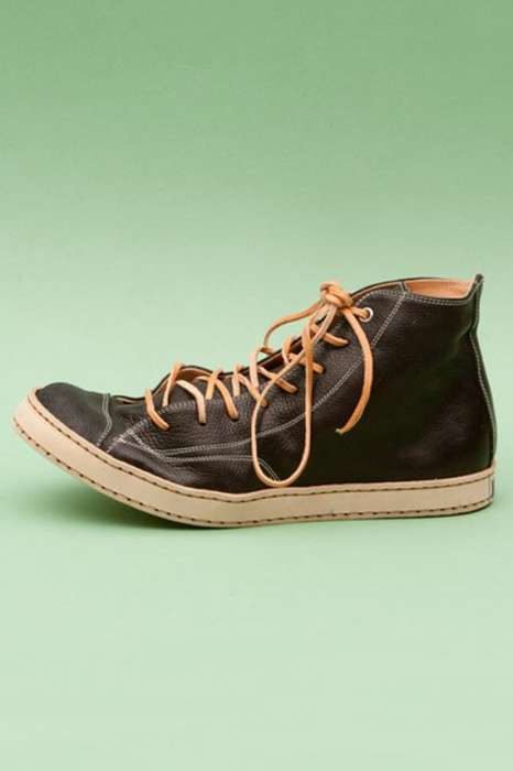 Luxe Leather Hi-Tops