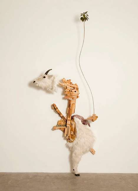 Abstract Animal Sculptures