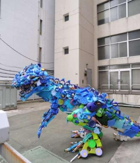 Toy T-Rexes
