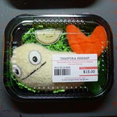 Tempura Shrimp Plushies