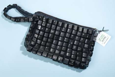 Recycled Keyboard Fashions - Neatorama Turns Old Keyboards Into Fab Art