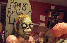 Ghastly Ghoulish B-Day Confections