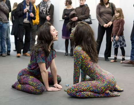 Color-Coated Performance Art