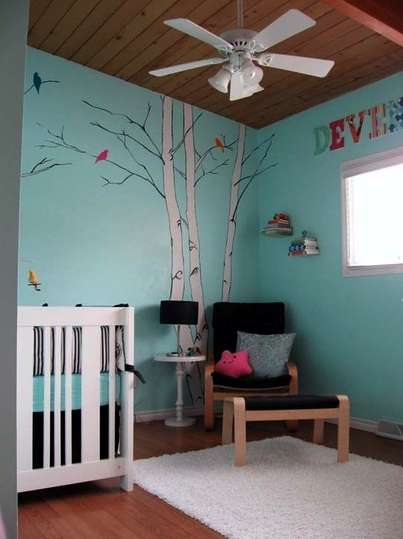 Outdoorsy Baby Rooms