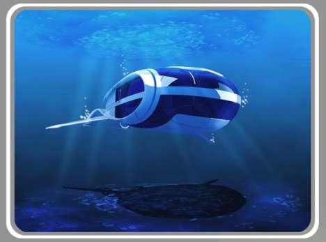 Aquatic Attraction Vehicles