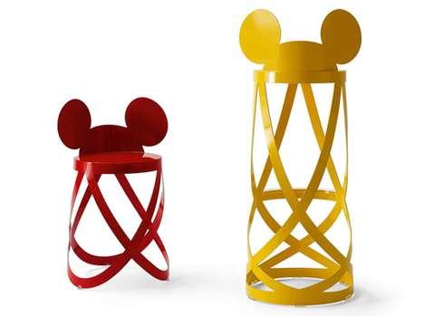 Mouseketeer Bar Stools