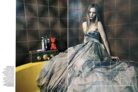 Bathroom Ball Gowns