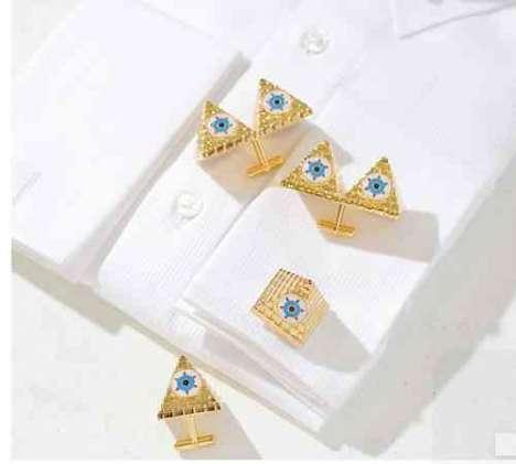 Pyramid Cuff Links