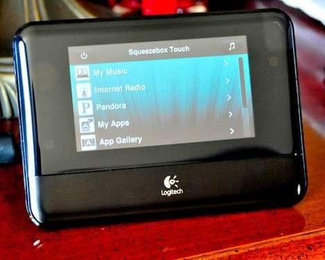 Touchscreen Clock Radios