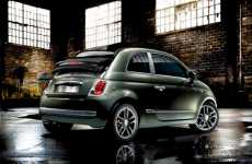 Denim-Powered Sedans - The Fiat 500C Diesel Edition is Ironically Fueled by Gas