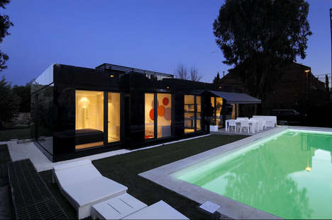 Reflective Pre-Fab Homes - The A Cero Modularing House is one of a Kind in a Mass Produced Market