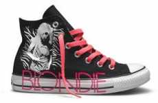 80s Electro-Pop Kicks - The Blondie Converse Sneakers Are Really Rock & Roll