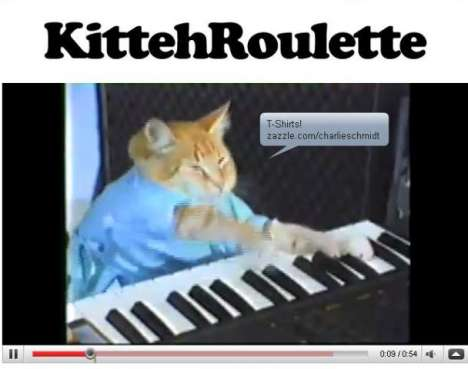 Cat-Themed Chat Sites - Kittehroulette Fulfills Your Wildest Cat-Themed Fantasies