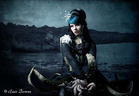 Gothic Mermaids - The Startling Photography of Annie Bertram