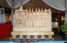Colossal Chocolate Churches - White Chocolate Dome of Milan Breaks World Record