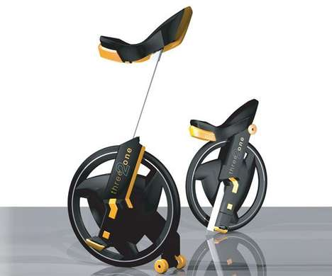 One-Wheeled Training Cycles
