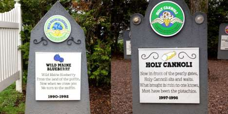 Ben & Jerry's Flavor Graveyard is Sweetly Spooky