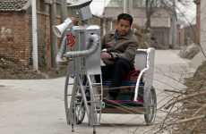 Hi-Tech Rickshaws - Wu YuLu's Hi-Tech Rickshaw is His 32nd Son