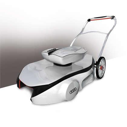 Luxury Car Grass Cutters