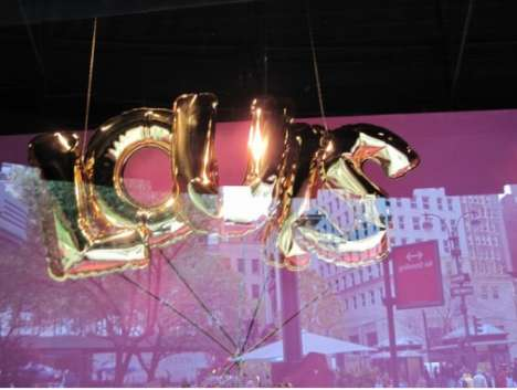 Floating Fashion Displays