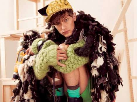 Whimsical Menswear Editorials