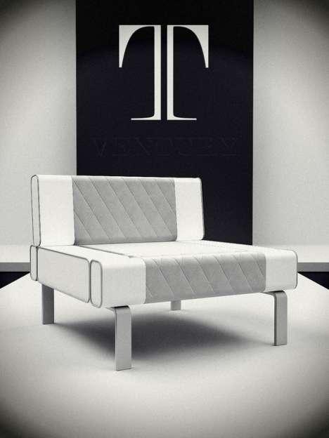 Milky Furniture Sets