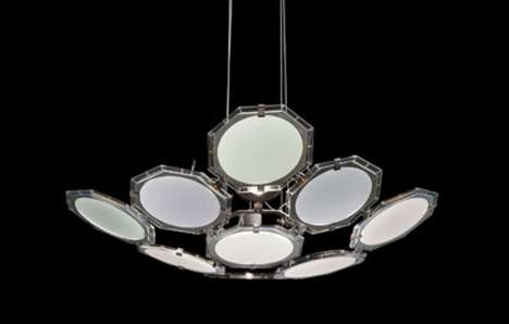 Oval OLED Chandeliers