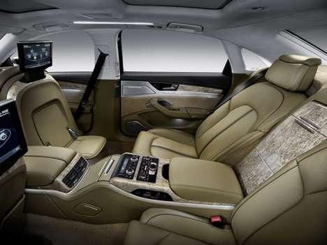 Super-Spacious Luxury Sedans